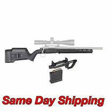 Magpul Hunter Short Action Black Stock w/Mag Well & 5rd Magazine - Remington 700