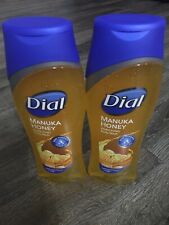 LOT of 2 Dial Manuka Honey Enriching Body Wash 16oz Gold Liquid Soap Ship Free