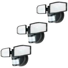 3 Pack Xtralite NiteSafe X2 Twin LED Floodlight Wireless Motion Sensor Light