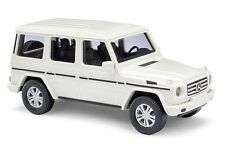 Busch H0, 51451 Mercedes Benz G class 2008, White, Car model 1:87