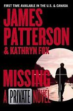 MISSING - A Private Novel unabridged audio book CD by JAMES PATTERSON  Brand New
