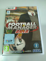 Football Manager 2012 Sega - Set For PC Dvd-rom Edition Spain
