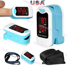 LED Fingertip Pulse oximeter SpO2 PR Blood Oxygen meter monitor CMS50M,US Seller