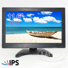 "11.6"" IPS HD LCD HDMI VGA AV BNC Portable Monitor Screen 16 : 9 for PC CCTV TV"