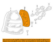 HONDA OEM Civic Taillight Tail Light Lamp Rear-Lens & Housing Gasket 33503S03003