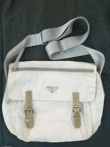 Prada nylon crossbody messenger bag