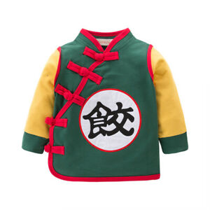 The New Dragon Ball Dumplings Clothes Thin Section Long Sleeve Top Cosplay