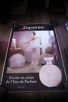REPETTO DOROTHEE GILBERT 4x6 ft Bus Shelter Original Fashion Vintage Poster