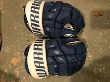 """New listing Warrior covert hockey gloves 13"""" Maple leafs with """"Kovy"""" palm"""