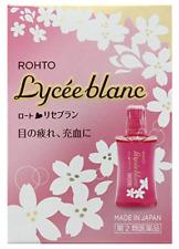 ROHTO Lycee blanc Eye Drop 12 ml Japan NEW