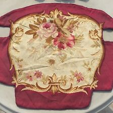 Antique 18 C Aubusson français tissée main Tapisserie Chaise Cover Panel