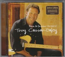 TROY CASSAR-DALEY-BORN TO SURVIVE-THE BEST OF-DELUXE EDITION-CD + DVD-AUSTRALIA