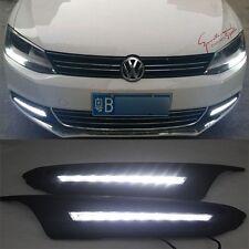 LED Daytime Running Light DRL Fog Lamp for VW 2010 2011 2012 JETTA SAGITAR MK6