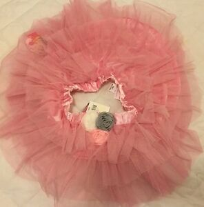 REDUCED Brand New Girls Size 4 Pink Dance Halloween Ballet Skirt