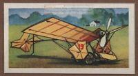 Santos Dumont Demoiselle Monoplane XIX  Aviation Pioneer  Vintage Trade Card