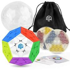 Gan Megaminx M Magnetic Stickerless Magic Speed Cube Puzzle Toy Ship from USA