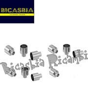 6802 - 10 BUSOLOTTI BUSOLOTTO CAVI 4,5 CON MUSO VESPA 50 SPECIAL R L N