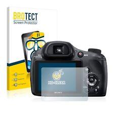Sony Cyber-Shot DSC-HX350, 2 x BROTECT® HD-Clear Screen Protector, hard-coated
