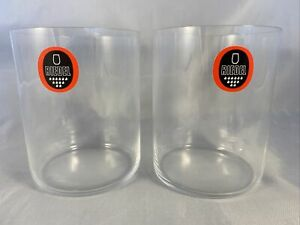 NEW 2 Riedel Whisky Glasses Tumbler Water Glass - Set of 2 Glasses - Clear NWT