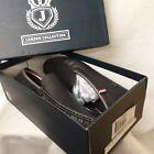J London Collection Mens black loafer BNIB Vegan Leather (25)