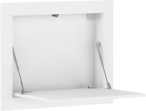 Folding desk RAM wall-mounted hanging home office white sonoma oak