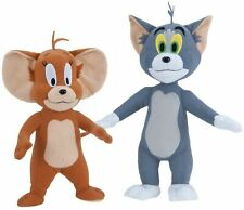 """Hanna-Barbera Tom and Jerry Deluxe 14"""" Plush Set"""