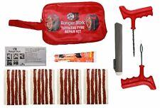 Tyre Repair Kit with 20 Strings /Plug/Insert & Cement Tube