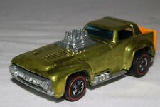 HOT WHEELS REDLINE SHORT ORDER, METALLIC YELLOW, HONG KONG, EXCELLENT, ORIGINAL