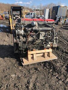 Cummins N14 Select red Top Diesel Engine