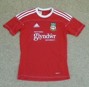 Extra Small Mens Wrexham FC Football Shirt (2012) Adidas