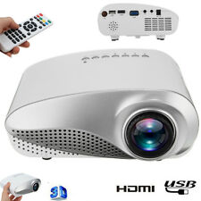 3D 1080P HD Mini Projector LED Multimedia Home Cinema Theater USB VGA HDMI TV AV