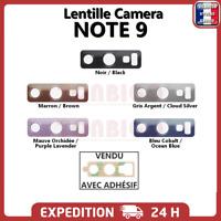 Lentille arrière appareil photo Samsung Galaxy NOTE 9 vitre Camera Glass Lens