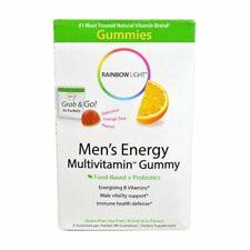 Rainbow Light Men's Energy Multivitamin Gummy - 90 Gummies  exp date 05/2020
