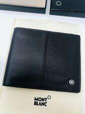 MONTBLANC *MST* 8cc Hirschleder Brieftasche Etui Mappe Wallet braun NP495€ -1972