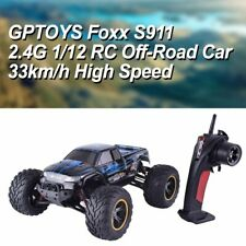 2WD RC Car High Speed 2.4GHz Remote Control 1:12 Scale Off Road Monster Trucks