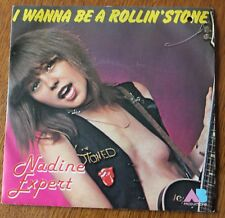 Nadina Expert, i wanna be a rolli'stone / play the game of love, SP - 45 tours
