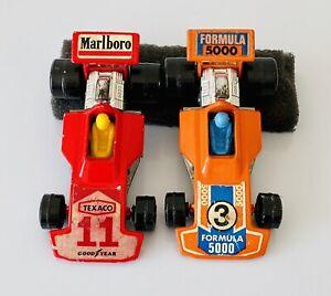 Lesney Matchbox Superfast Formula 5000 No. 3 1975 Lot Of 2 Marlboro Texaco