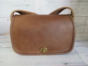 "COACH Vintage Tabac Leather ""Sling"" Bag NYC #9710 - Refurbished - EVC"