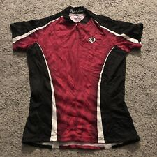 Pearl Izumi XS (extra Small) Woman's Cycling Jersey Pink & Black, Vgc Top