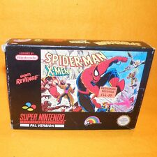 Super nintendo entertainment system snes SPIDER-MAN X-MEN ARCADE'S REVENGE jeu
