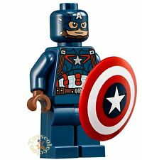 LEGO SUPER HEROES MARVEL - CAPTAIN AMERICA SET 76051 76067 - ORIGINAL MINIFIGURE