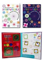 Drawing Designs Spirograph  Educational DIY Toy Set Magic Pen Ruler Too Kid Game