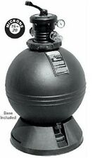 "Waterway Clearwater 22"" Swimming Pool Sand Filter has Durable Roto-Molded Tank"