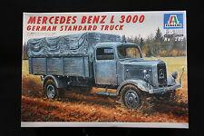 XZ146 ITALERI 1/35 maquette camion 287 Mercedes Benz L3000 German Standard Truck