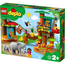 Lego Duplo Tropical Island Building Set with Animal Figures - 10906
