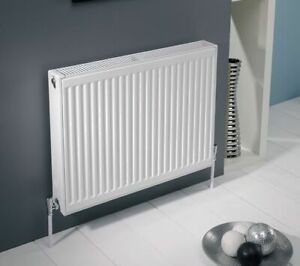 Kartell Type 22 900 x 500 Radiator Compact Double Panel Double Convector White