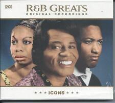 Icons - R'N'B Greats - 50 Various (2CD 2008) NEW/SEALED