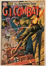 (1962) GI COMBAT #96 Featuring the HAUNTED TANK!