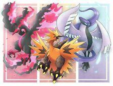Pokemon Sword and Shield ✨All 3 Galarian Legendary Birds ✨ Crown Tundra