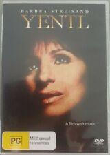 Yentl (DVD, 2005) Region 4 Rare Disc Like New Free Postage